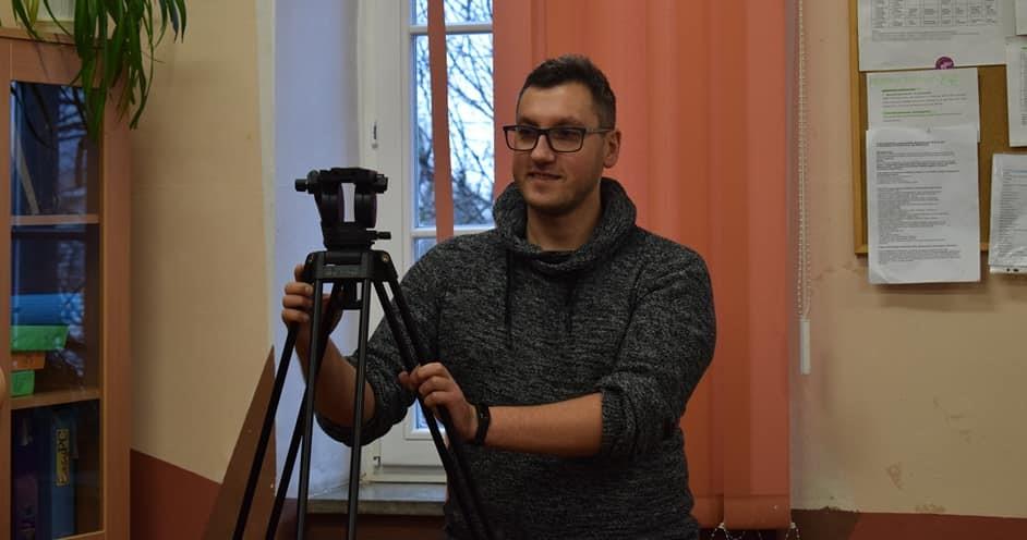 """""""Dziennikarska przygoda"""" szkolenie dla uczniów LO w Bystrzycy Kłodzkiej"""